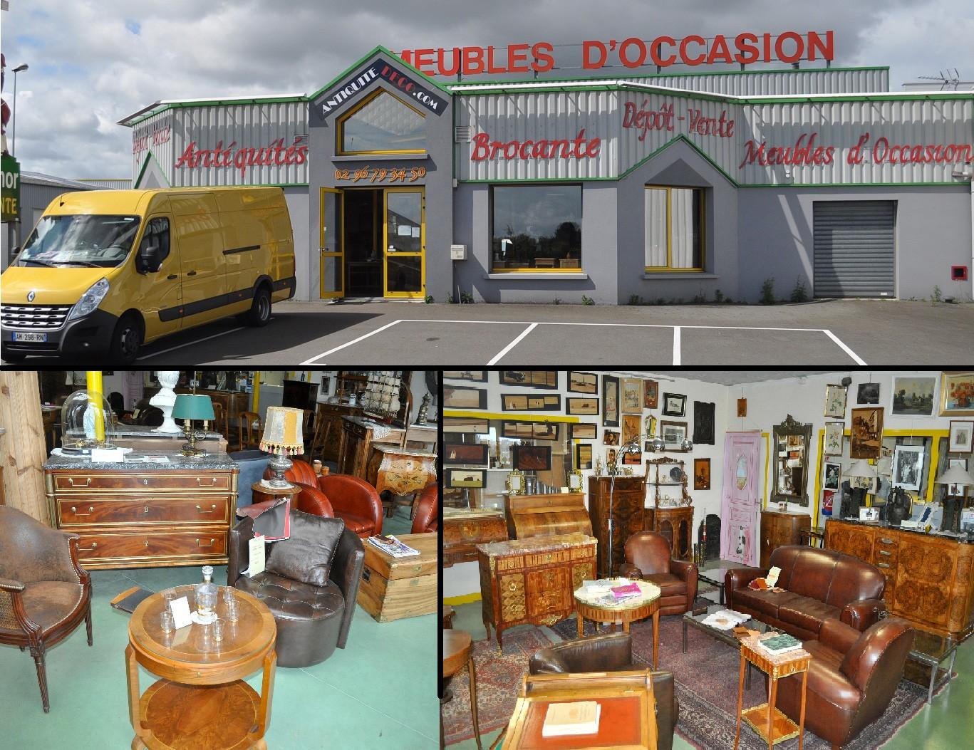 Dépôt-vente à proximité de Saint-Brieuc | Antiquitedeco.com