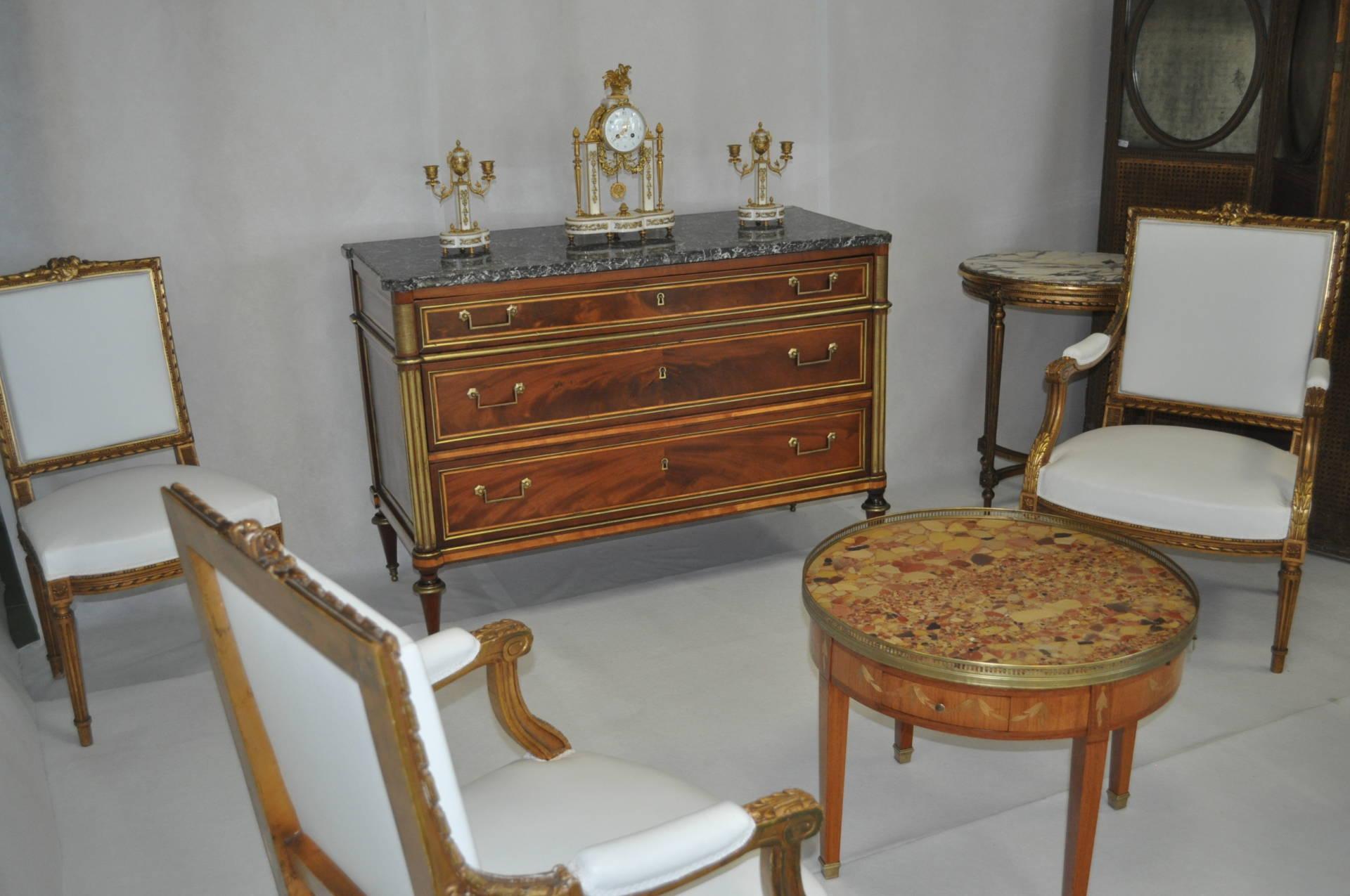 Commode acajou époque Louis XVI